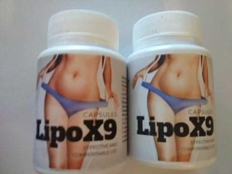 Набор 2 шт. Lipo X9 препарат для похудения 30 шт. биодобавка