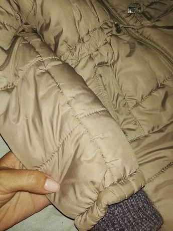 Куртка-парка 4-5лет осень-зима.