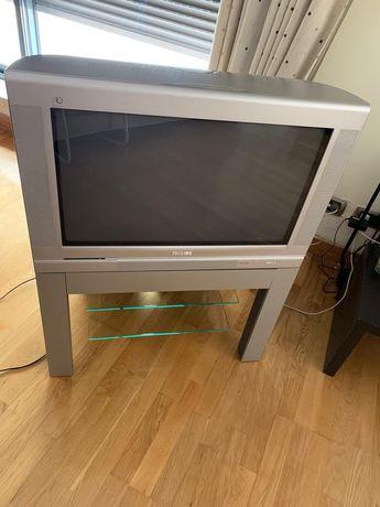 Televisão Philips com móvel