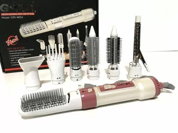 Воздушный стайлер для волос 7 в 1 Gemei GM4836