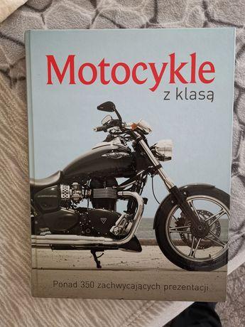 """Książka """"Motocykle z klasą"""" album z ponad 350 zachwycających prezentac"""