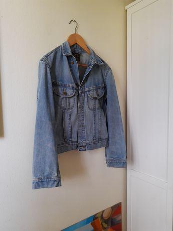 Lee real vintage katana jeansowa kurtka aesthetic parisian classy