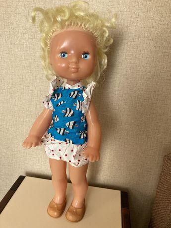 Кукла СССР вінтаж 45 см нова лялька
