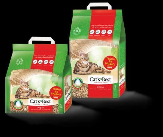 Żwirek dla kota Cats Best Eco Plus 10l