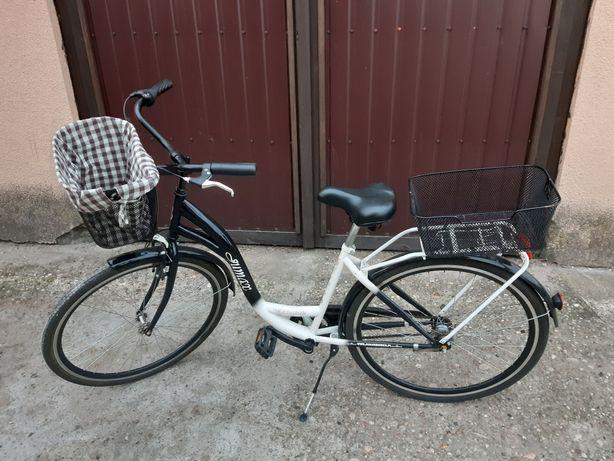 Rower miejski na kołach 28' 3-biegowy