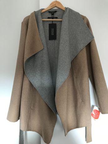 Nowy wełniany płaszcz Tom Taylor, r. 38, handmade