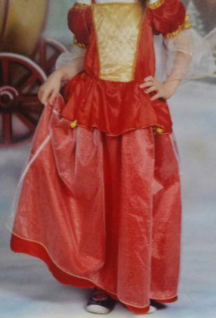 Sukienka balowa księżniczka-dziewczęca