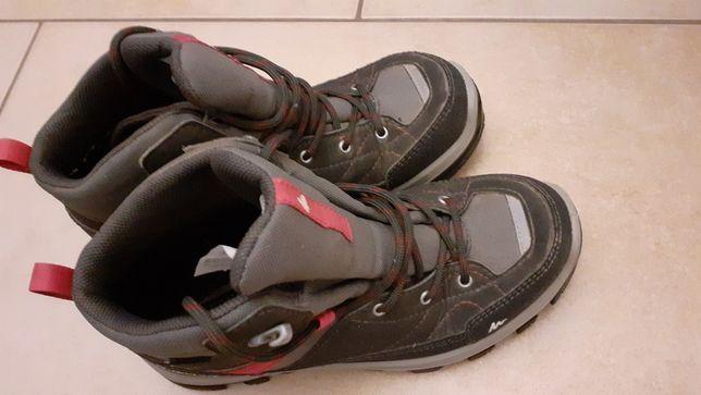 Buty dziecięce, trekkingowe, 35.