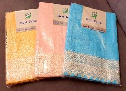 Zestaw 6 ręczników (3 komplety )