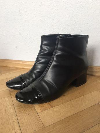 Botki 38/39 Zara czarne