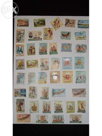 Selos Moçambique lote 43 diferentes