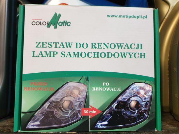 Zestaw do renowacji lamp reflektorów MOTIP