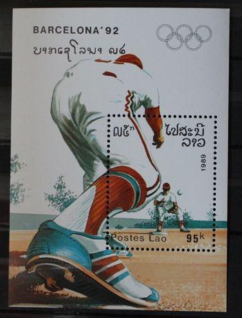 Filatelistyka znaczki pocztowe sport bloki