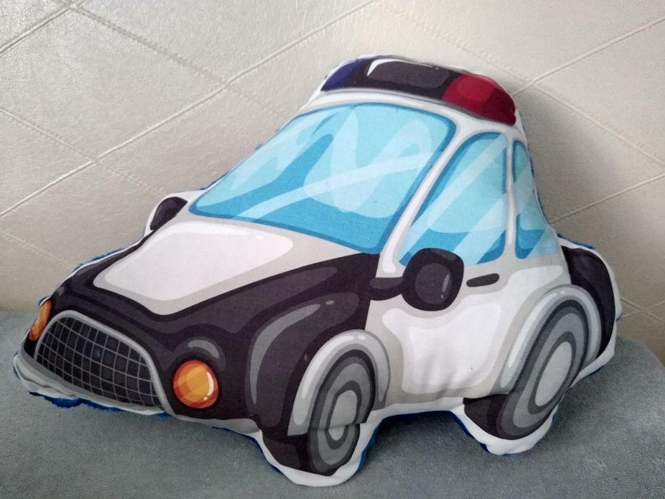 Poduszka samochód policyjny radiowóz 3d Chełmno - image 1