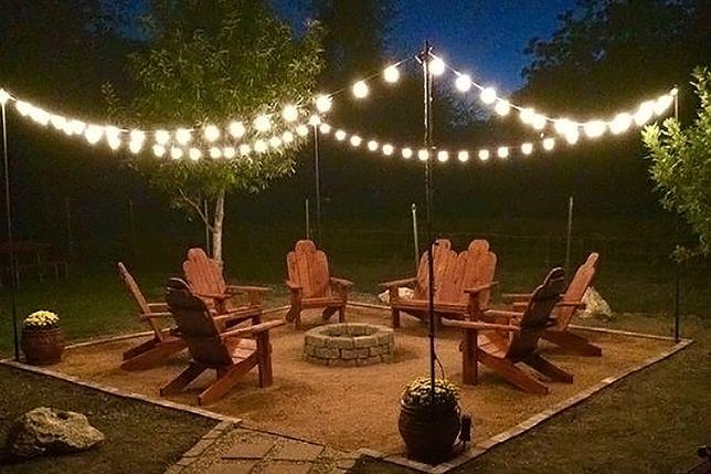 Łańcuch świetlny 10m 10xE27 oświetlenie hotelu kurortu patio ogródek