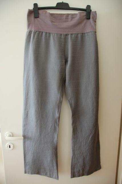 spodnie ciążowe szare rozm. 42