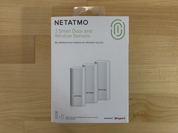 Nowe czujniki otwarcia okien drzwi Netatmo