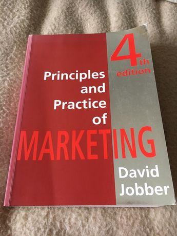 Pronciples and practice of marketing David Jobber podręcznik