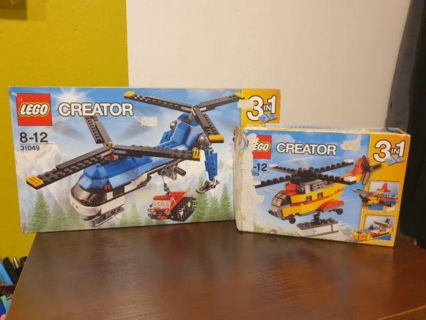 2 zestawy Klocków LEGO CREATOR 31049, 31029