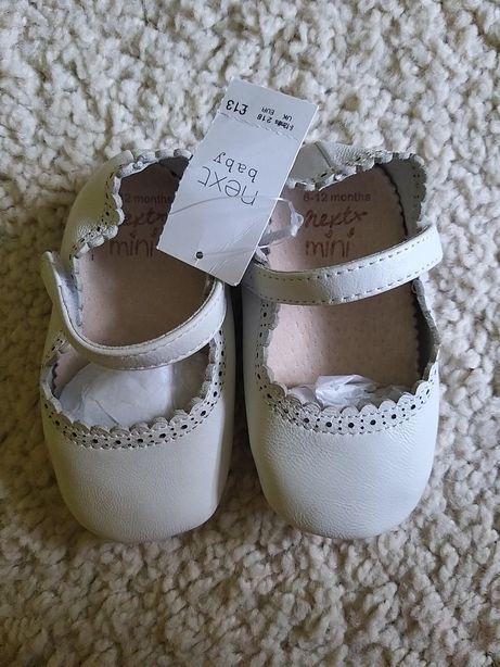 Next NOWE buciki/niechodki dla dziewczynki 6-12 miesięcy