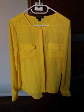 Bluzka żółta 36 S