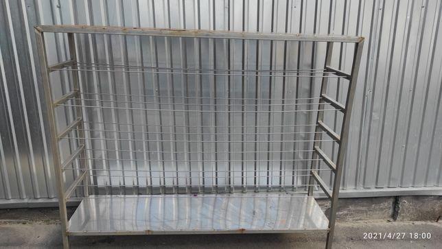 Продам стеллаж из нержавеющей стали