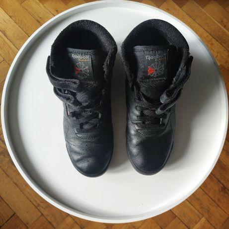 adidasy buty sportowe Reebok Freestyle Hi 2240 czarne skórzane 34