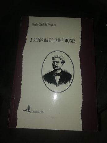Livro A Reforma de Jaime Moniz