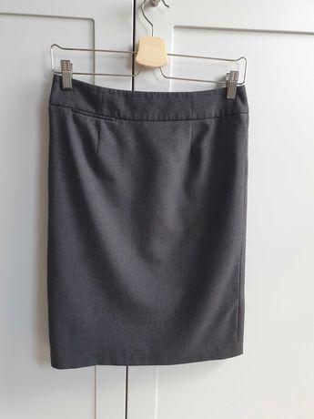 Spódnica ołówkowa szara czarna Calvin Klein rozmiar 36 S