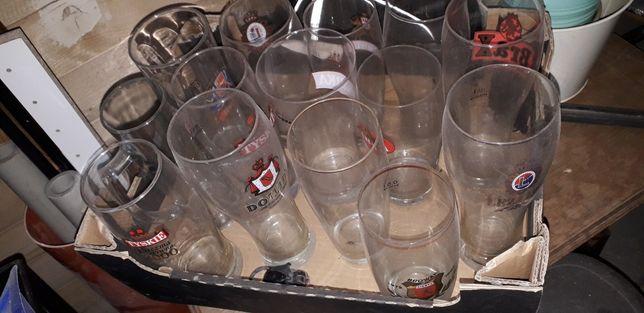 Pokale, szklanki do piwa