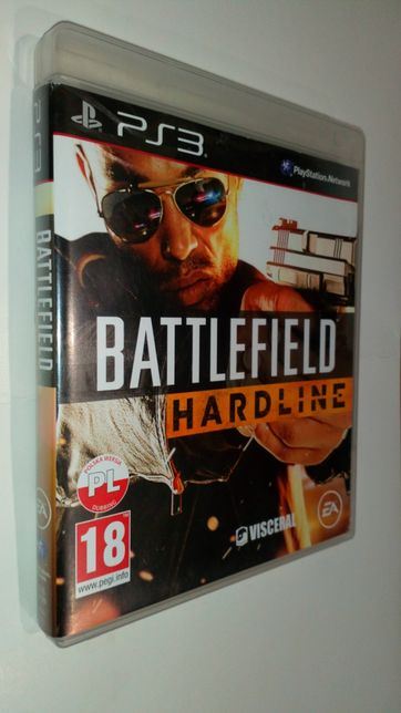 Gra PS3 Battlefield HARDLINE PL gry PlayStation 3 Medal of honor