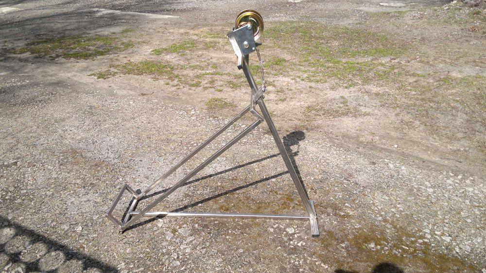 Podnośnik do traktorka kosiarki nierdzewka Zamość - image 1