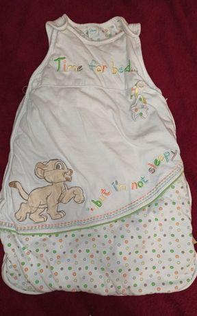 Пеленка кокон, спальный мешок от Disney для ребенка 0-6 мес