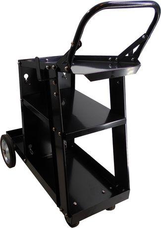 Wózek spawalniczy MIG z półką na butlę na spawarkę