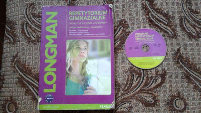 LONGMAN + CD repetytorium podręcznik j. angielski