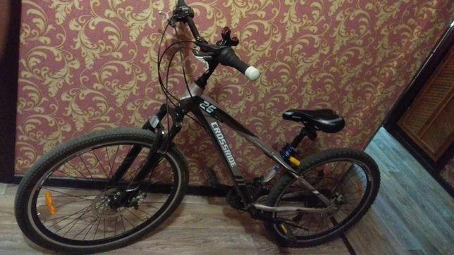 Велосипед 21 скорость 26 колёса дисковые тормоза амортизаторы на перед