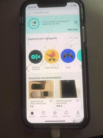 Iphone 64 gb ler a descriçao