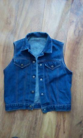 Kamizelka jeansowa 7-8 lat