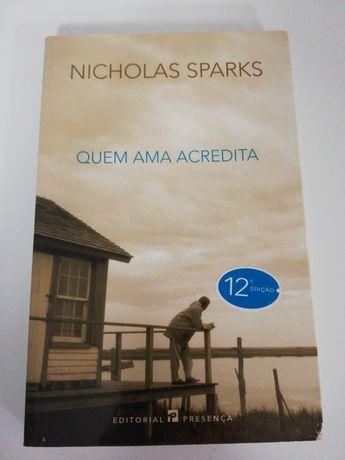 Livro Quem Ama Acredita - Nicholas Sparks