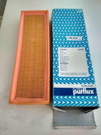 Новый воздушный фильтр Purflux A1141 Peugeot Citroen