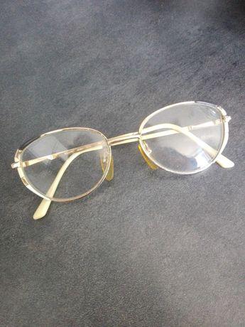 Okulary oprawka do szkieł korekcyjnych złote Bouvret