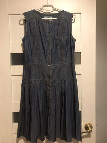 Prada платье сарафан р.м