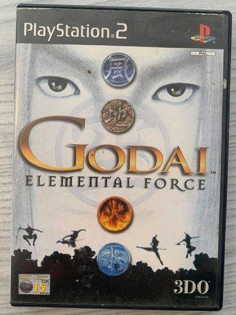 Godai Elemental Force PlayStation 2 Ps2