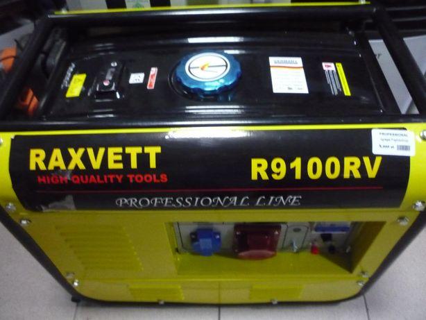 Agregat prądotwórczy RAXVETT R9100RV 8kw