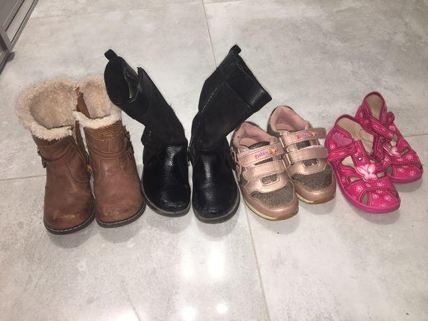 Buty dziewczece rozmiar 25