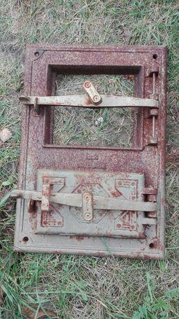 Drzwiczki do pieca kaflowego z elekt. wkładem