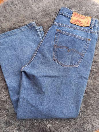 HIT jeansy spodnie vintage szerokie spodnie