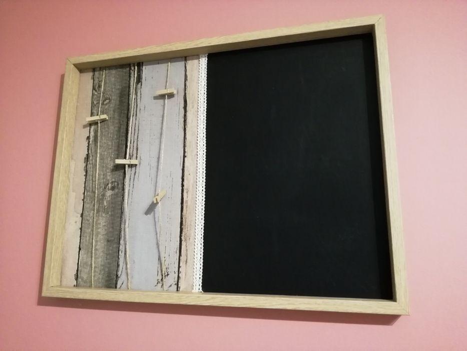 Ramka na zdjęcia z tablicą kredową. 42x55 cm Dębica - image 1