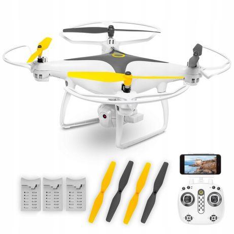 Dron Overmax X-Bee Drone 3.3 Wi-Fi Kamera HD FPV 3 Baterie w Zestawie