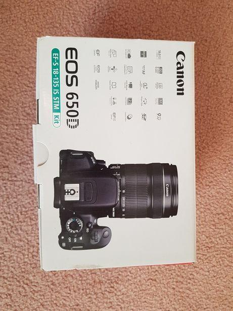 Canon 650d. (18-135 stm.)